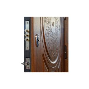 Входная дверь 210 на 90 ПК-61+ дyб тёмный